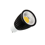 gu10 led spotlight mr16 1 cob 750-800lm blanc chaud froid blanc 3000-3500k ac 100-240v