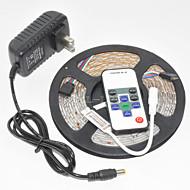 z®zdm防水5m 300x3528 smd rgb ledストリップライトと10key rfコントローラと12v3a eu / us / uk電源(ac110-240v)