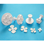cheap Kitchen & Dining-Novelty For Chocolate For Cupcake For Cookie For Cake Plastic Cake & Cookie Cutter