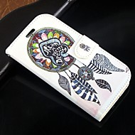 """Для Кейс для  Samsung Galaxy Бумажник для карт / Кошелек / со стендом / Флип Кейс для Чехол Кейс для Рисунок """"Ловец снов""""Искусственная"""