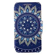 Для Кейс для Huawei / P8 / P8 Lite Бумажник для карт / Флип Кейс для Чехол Кейс для Мандала Твердый Искусственная кожа HuaweiHuawei P8 /