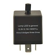 Недорогие Сигнальные огни для авто-cf13kt автомобиль конденсатора регулируется устройства / мигалка для светодиодных (DC11 ~ 15V 0,02 ~ 20а)