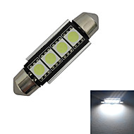 abordables Otras Luces LED-80-90 lm Festón Luces Decorativas 4 Cuentas LED SMD 5050 Blanco Fresco 12 V