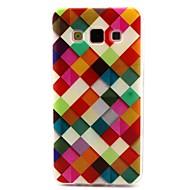 Недорогие Чехлы и кейсы для Galaxy А-Кейс для Назначение SSamsung Galaxy Кейс для  Samsung Galaxy С узором Кейс на заднюю панель Геометрический рисунок ТПУ для A3