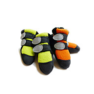Недорогие Бижутерия и аксессуары для собак-Кошка Собака Ботинки и сапоги Оранжевый Зеленый Для домашних животных