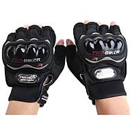 Motorrad-Handschuhe Kurzfinger Polyurethan/Nylon/Lycra M/L/XL Rot/Schwarz/Blau