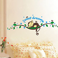 Dieren / Botanisch / Cartoon / Stilleven / Landschap Wall Stickers Vliegtuig Muurstickers,PVC 120*47.5