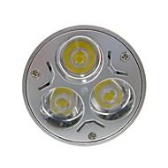 GU5.3(MR16) LED 스팟 조명 MR16 3 LED가 고성능 LED 400lm 따뜻한 화이트 차가운 화이트 DC 12 AC 12