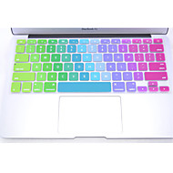 """coosbo® farverige silikone tastatur beskyttelse cover skin til 11 """", 12"""", 13 """", 15"""", 17 """"macbook air pro retina"""