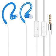 JTX-Y01の3.5ミリメートル、高品質のノイズキャンセリングマイク耳のイヤホンでiphoneや他の携帯電話用