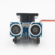 povoljno -ultrazvučni mjerenje udaljenosti sonde modul Kit w / 9g servo - crna