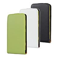 お買い得  携帯電話ケース-ケース 用途 Nokia Lumia 625 Nokia Nokiakケース フルボディケース フリップ フルボディーケース 純色 スペシャルデザイン ハード PUレザー 本革 PVC のために