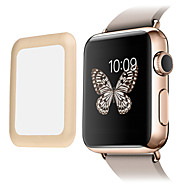 Link Dream Premium  0.2mm Real Tempered Glass with  Full Cover Metal Edge Screen Protector for  Apple Watch 3 Series 2 1 (42mm)