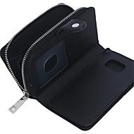 Для Кейс для  Samsung Galaxy Кошелек / Бумажник для карт / Магнитный Кейс для Чехол Кейс для Один цвет Натуральная кожа SamsungS7 edge /