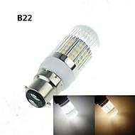 cheap LED Corn Lights-4W E14 G9 GU10 B22 E26/E27 LED Corn Lights 40 SMD 5630 350-400 lm Warm White Cold White 3000-3500K 6000-6500K K Decorative AC 100-240 AC
