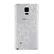Для Samsung Galaxy Note Матовое / Прозрачный Кейс для Задняя крышка Кейс для Мандала PC Samsung Note 4