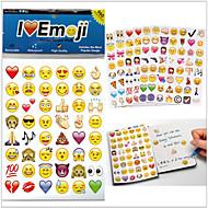 2015new 960pcs / csomag emoji matricák népszerű emoji matricák mobiltelefon gyerek szoba lakberendezés