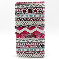 Недорогие Galaxy Core 2-Для Кейс для  Samsung Galaxy Кошелек / Бумажник для карт / со стендом / Флип Кейс для Чехол Кейс для Полосы / волосы Искусственная кожа