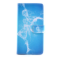 Для Samsung Galaxy Note Кошелек / Бумажник для карт / со стендом / Флип Кейс для Чехол Кейс для Соблазнительная девушка Искусственная кожа