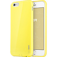 Para Funda iPhone 6 / Funda iPhone 6 Plus Ultrafina Funda Cubierta Trasera Funda Un Color Suave TPU iPhone 6s Plus/6 Plus / iPhone 6s/6