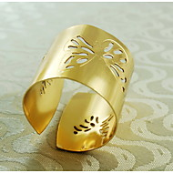 kelebek deseni 12 set dekorasyon peçete halkası, metal, 1.77inch,