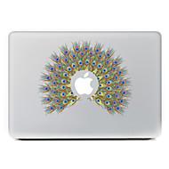 hesapli -Retina ekranlı / pro / pro macbook hava tavuskuşu çiçek dekoratif deri etiket