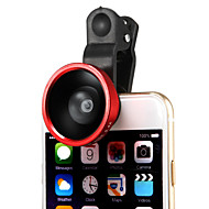 Removable 220 Degree Wide Angle Lens with Universal Clip for iPhone 6Plus/6/5/Ipad and Others(Assorted Colors)