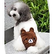 billige -Kat Hund Kostume Drakter Bukser Hundeklær Tegneserie Gul Brun Rosa Bomull Kostume For kjæledyr Cosplay Bryllup Halloween