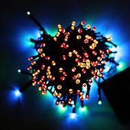 napelemes kerti lámpa 32m 300led húr fény a karácsonyi lakodalom fény