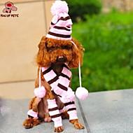 abordables Joyas & Accesorios del Perro-Gato Perro Bandanas y Sombreros Ropa para Perro Cosplay Boda Rosa Disfraz Para mascotas