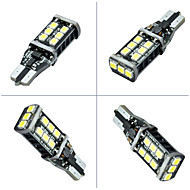 Недорогие Задние фонари-SO.K 2pcs T10 Автомобиль Лампы 10 W 400-600 lm 15 Задний свет For Универсальный