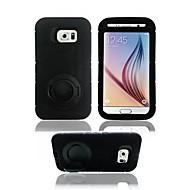 Voor Samsung Galaxy hoesje Schokbestendig / met standaard hoesje Achterkantje hoesje Pantser PC SamsungS7 edge / S7 / S6 edge / S6 / S5 /