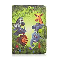 olcso iPad tokok-Case Kompatibilitás Univerzális Note 10.1 2014 Edition Tab S 10.5 iPad 4/3/2 Tab 9,7 Tab S2 9.7 iPad Air 2 iPad Air Porálló Ütésálló