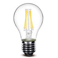 voordelige LED-gloeilampen-1pc 400 lm E26/E27 LED-gloeilampen G60 4 leds COB Dimbaar Warm wit AC 110-130V AC 220-240V