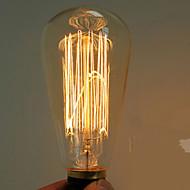 40w e27 edison st64 retro glödlampa (220-240v)