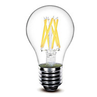 cheap LED Filament Bulbs-5W E26/E27 LED Filament Bulbs G60 6 COB 500lm Warm White 2700K Dimmable AC 220-240 AC 110-130V