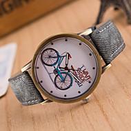 Недорогие Женские часы-Жен. Модные часы Повседневные часы Кварцевый Повседневные часы Кожа Группа Кулоны Черный Белый Синий Красный Коричневый Зеленый Розовый