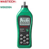 お買い得  -バックライト+データストレージとMASTECH-ms6208a-接触タコメータースピードメーターラインタコメータ