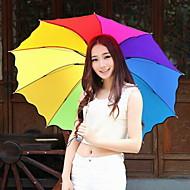 패션 나일론 / 금속 여러 가지 빛깔의 우산 오프 70 % 현대 / 현대 / 캐주얼 (색상 랜덤)