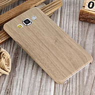 grain pattern pu soft shell case for galaxy a3 a5 a7 2015 galaxy a series koffers / covers