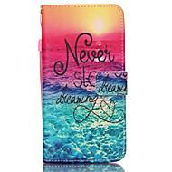 Pentru Samsung Galaxy Note Titluar Card / Portofel / Cu Stand / Întoarce Maska Corp Plin Maska Cuvânt / expresie PU piele SamsungNote 5 /