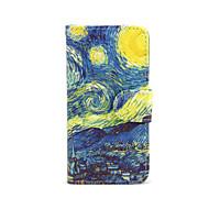 Назначение iPhone 8 iPhone 8 Plus Кейс для iPhone 5 Чехлы панели Кошелек со стендом Флип Чехол Кейс для Цвет неба Пейзаж Твердый