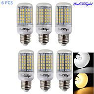 6W E14 E26/E27 Bombillas LED de Mazorca T 96 SMD 5730 450-500 lm Blanco Cálido Blanco Fresco 3000/6000 K Decorativa AC 100-240 AC 110-130