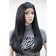 お買い得  -人工毛ウィッグ ストレート 密度 キャップレス 女性用 カーニバルウィッグ ハロウィンウィッグ 合成