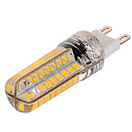 G9 Bombillas LED de Mazorca T 72 SMD 2835 1000 lm Blanco Cálido Blanco Fresco 2800-3200/6000-6500 K Regulable AC 100-240 V
