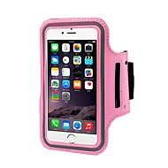 billige Mobilcovers-Etui Til iPhone 6s Plus iPhone 6 Plus iPhone 6s iPhone 6 Universal Med vindue Armbånd Armbånd Helfarve Blødt Tekstil for