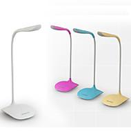 お買い得  -コンテンポラリー LED デスクランプ 用途 ポリ塩化ビニル ホワイト イエロー ピンク ライトブルー