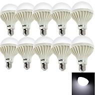 halpa LED-pallolamput-E26/E27 LED-pallolamput A80 15 ledit SMD 5630 Koristeltu Kylmä valkoinen 700lm 6000K AC 220-240V