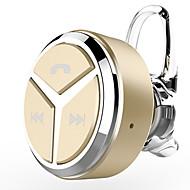 abordables -EARBUD Sans Fil Ecouteurs Plastique Téléphone portable Écouteur Mini / Avec contrôle du volume / Avec Microphone Casque