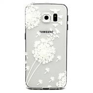 Na Samsung Galaxy Etui Etui Pokrowce Przezroczyste Etui na tył Kılıf Mniszek lekarski Poliuretan termoplastyczny na Samsung Galaxy S6